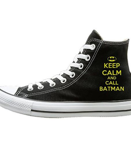 JayKi-Keep-Calm-And-Call-Batman-Women-Men-Canvas-Sneaker-Athletic-Shoes-Black-0