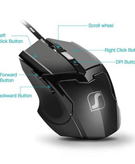 Jelly-Comb-Gaming-Mouse-Mice-for-PC-with-6-Buttons-up-to-4800-DPI-Adjustable-DPI-Switch-Function-7-Lighting-Color-Black-0-0