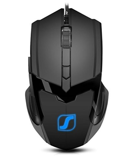 Jelly-Comb-Gaming-Mouse-Mice-for-PC-with-6-Buttons-up-to-4800-DPI-Adjustable-DPI-Switch-Function-7-Lighting-Color-Black-0