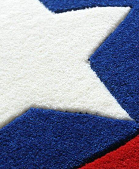 KANGLIDA-Round-Rugs-Captain-America-Shield-Carpet-Office-Circular-Mats-Circular-Living-Room-Bedroom-Carpet-0-1