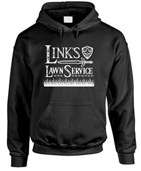 LINKS-LAWN-SERVICE-retro-80s-video-game-Mens-Pullover-Hoodie-0