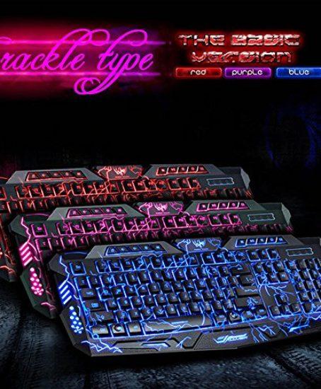 Laser-carving-characters-keyboard-BAVIER-Backlit-gaming-keyboard-Wired-Backlighting-Keyboard114keys-Ergonomic-keyboard-Adjustable-Backlight-Red-Purple-Blue-Switchable-Crack-Backlit-0-0