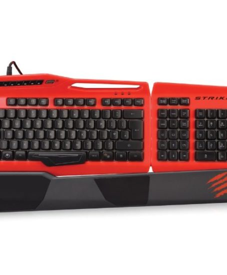 Mad-Catz-STRIKE-3-Gaming-Keyboard-for-PC-Red-MCB43112N013041-0
