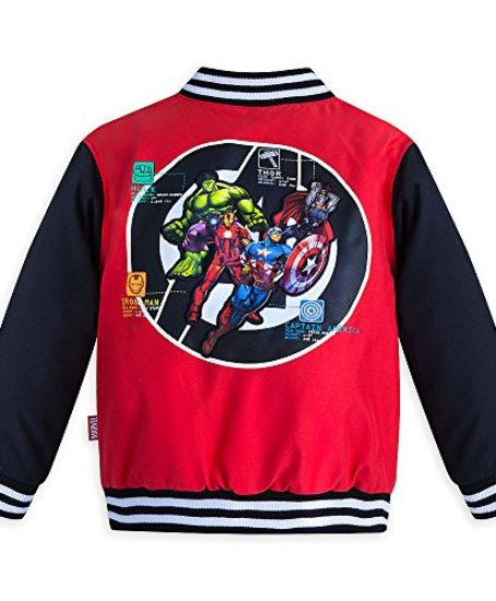 Marvel-Boys-Avengers-Varsity-Jacket-Red-0-0