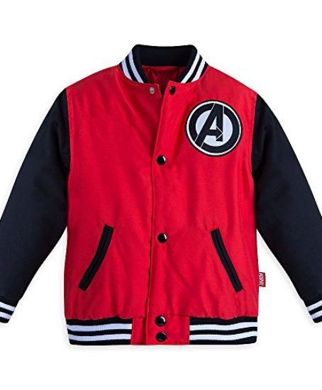 Marvel-Boys-Avengers-Varsity-Jacket-Red-0