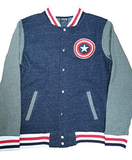 Marvel-Comics-Captain-America-Logo-Graphic-Jacket-0