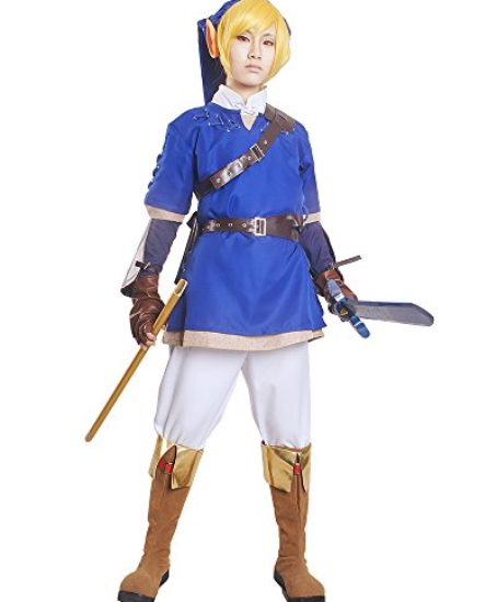 Miccostumes-Mens-the-Legend-of-Zelda-Link-Cosplay-Costume-Blue-0