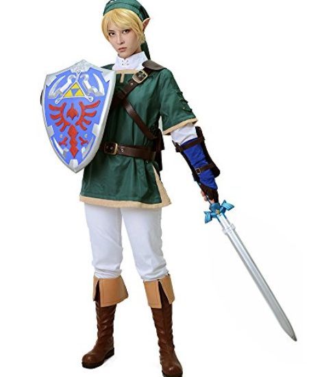 Miccostumes-Mens-the-Legend-of-Zelda-Link-Cosplay-Costume-Green-0-0