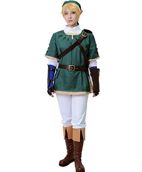 Miccostumes-Mens-the-Legend-of-Zelda-Link-Cosplay-Costume-Green-0