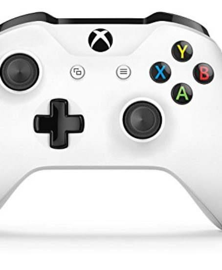 New-White-Xbox-One-S-Custom-Modded-Controller-With-The-Very-Best-Mod-Chip–Rapid-Fire-Auto-Aim-Drop-Shot-Quick-Scope–All-FPS-Games-COD-Infinite-Warfare-Battlefield-1-GOW-4-Destiny-0