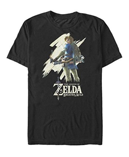 Nintendo-Legend-of-Zelda-Breath-of-Wild-Streak-Mens-Graphic-T-Shirt-0