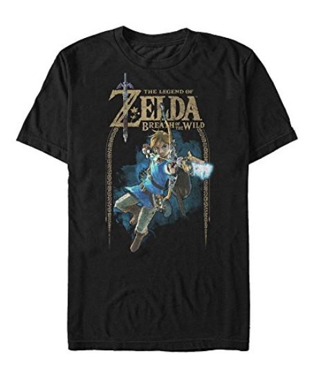Nintendo-Legend-of-Zelda-Breath-of-the-Wild-Arch-Mens-Graphic-T-Shirt-0