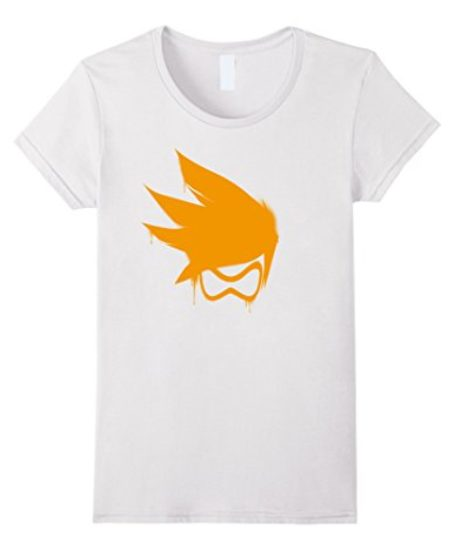 Overwatch-Tracer-Orange-Spray-Tee-Shirt-0