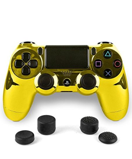 PS4-Dualshock-4-Full-Controller-with-Custom-Bundled-with-4-Custom-Thumbstick-Covers-0