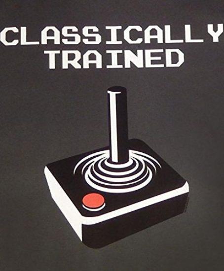 Panoware-Classically-Trained-Retro-Atari-Gaming-T-Shirt-0-0