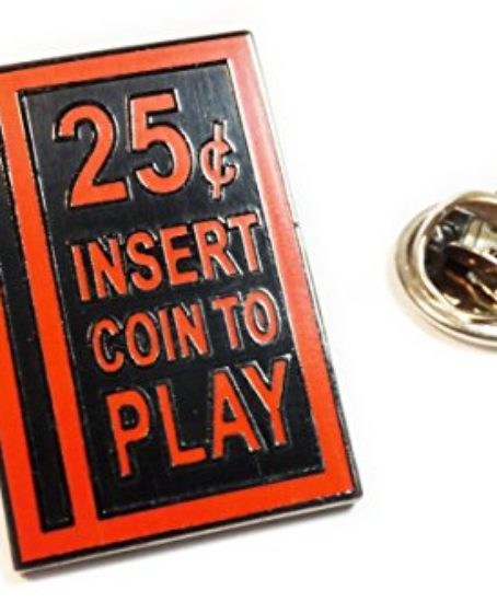 Quarter-Coin-Slot-Retro-Arcade-Video-Games-Hat-Jacket-Vest-Tie-Tack-Lapel-Pin-0