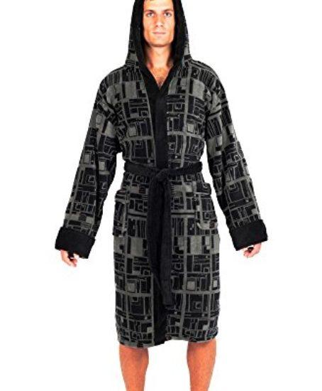 Robe-Factory-Mens-Star-Wars-Death-Star-Repeat-Pattern-Fleece-Robe-0