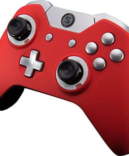 SCUF-Infinity1-Red-with-Silver-Trim-Controller-for-Xbox-One-and-PC-0