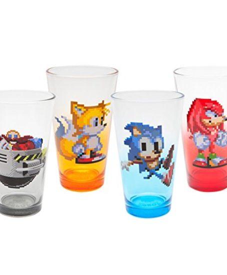 Sonic-the-Hedgehog-16-Bit-Shot-Glass-4-Pack-0