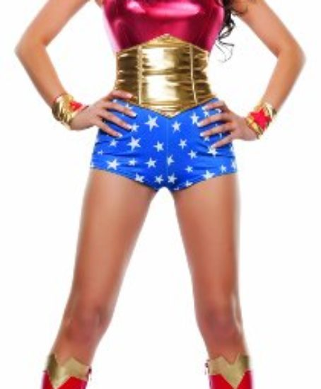 Starline-Womens-Lady-Power-Sexy-Cosplay-4-Piece-Costume-Set-0