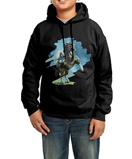 The-Legend-Of-Zelda-Breath-Of-The-Wild-Unisex-Youth-Graphic-Hoodies-0