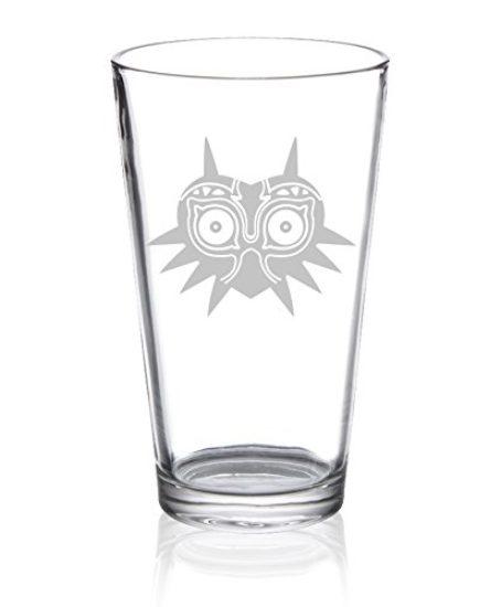 The-Legend-of-Zelda-Majoras-Mask-Etched-Pint-Glass-0