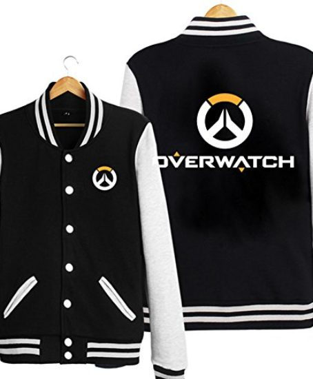 Xfang-Mens-Baseball-Uniform-Black-Adult-Cosplay-Sweatshirt-Costume-0