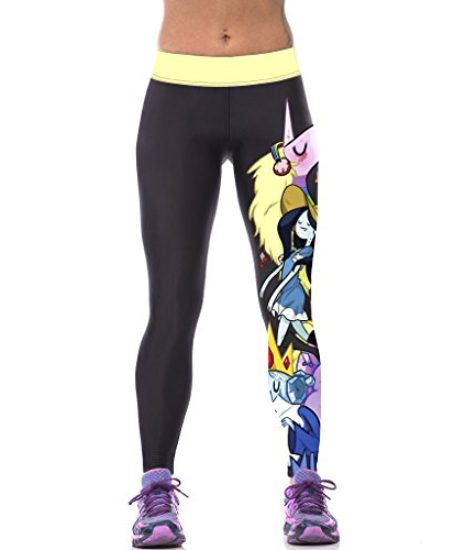 ZIOOER-Womens-Fitness-Yoga-Sport-Pants-Printed-Stretch-Ankle-Legging-0