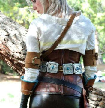 the witcher 3 ciri cosplay