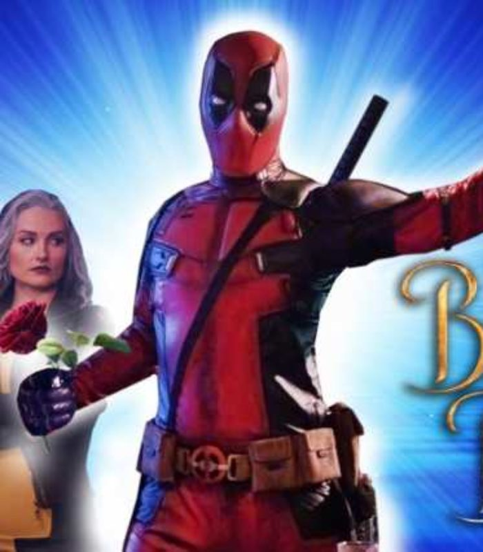 deadpool beauty and the beast parody