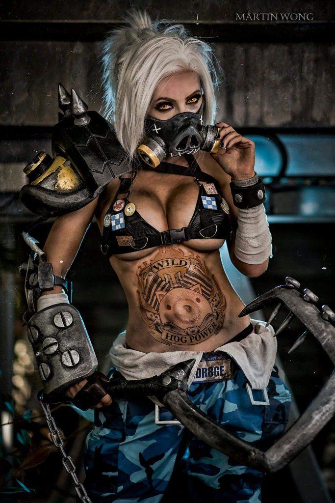 female roadhog cosplay sexy