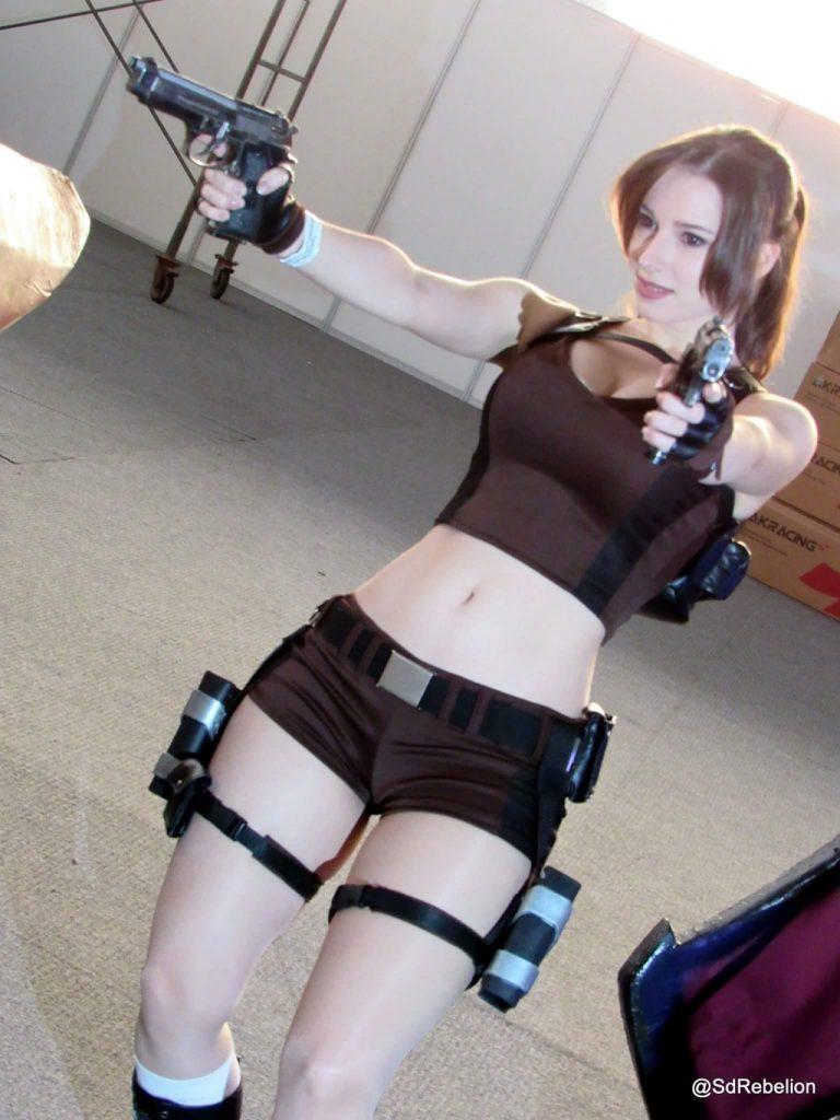 Sexy digital lara croft