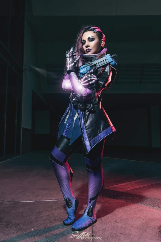 overwatch sombra cosplay