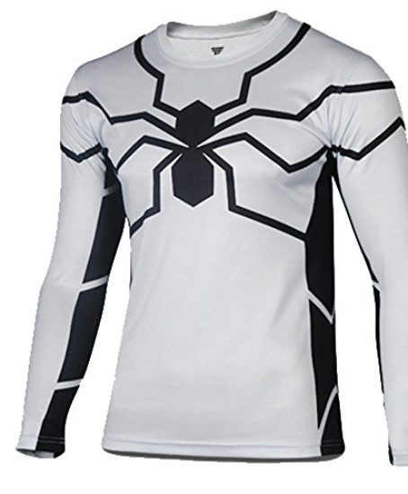 topway-Mens-Long-Sleeve-Crewneck-Super-Heroes-T-shirt-Quick-Dry-Wicking-Tee-0-0