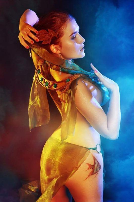 the witcher cosplay by Kseniya Rogutenok