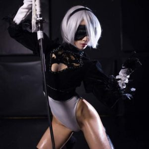 2B Cosplay from Nier automata