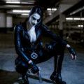 Katy DeCobray Looks Fierce As Domino From Marvel Comics