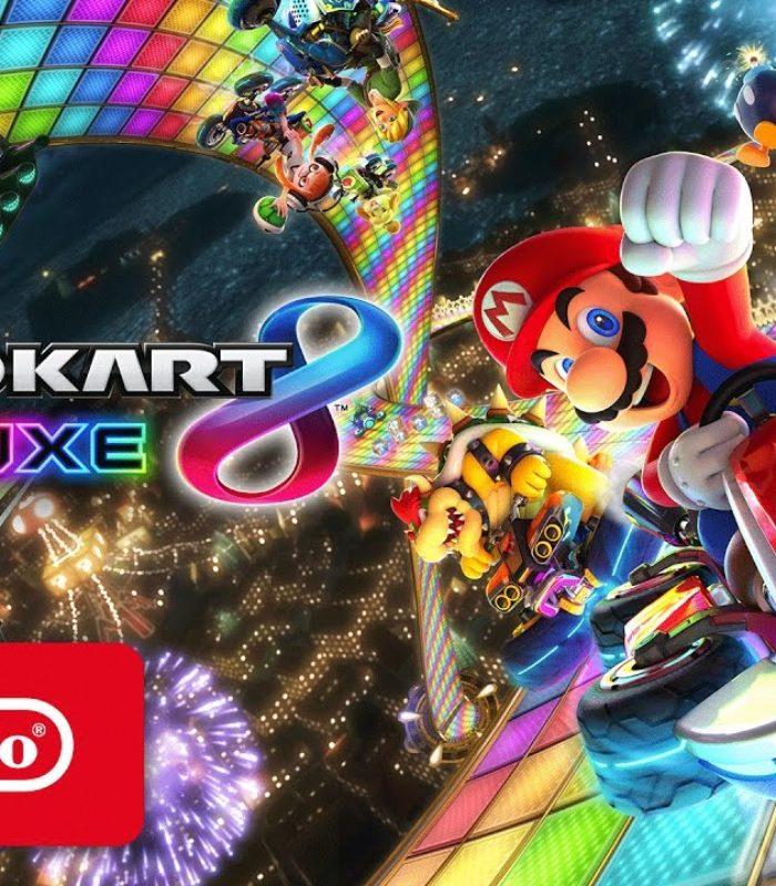 mario kart 8 video game review