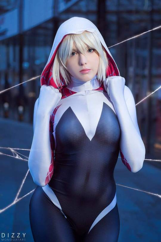 Spider-Gwen from Marvel Comics cosplay