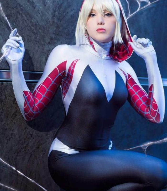 Spider-Gwen from Marvel Comics