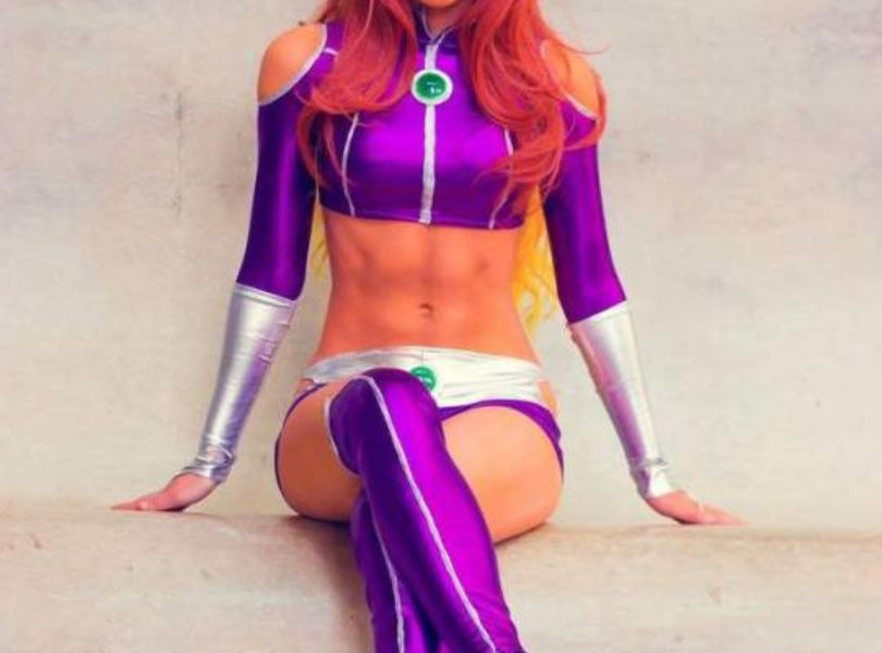 Teen Titans Starfire Cosplay By Starbolt