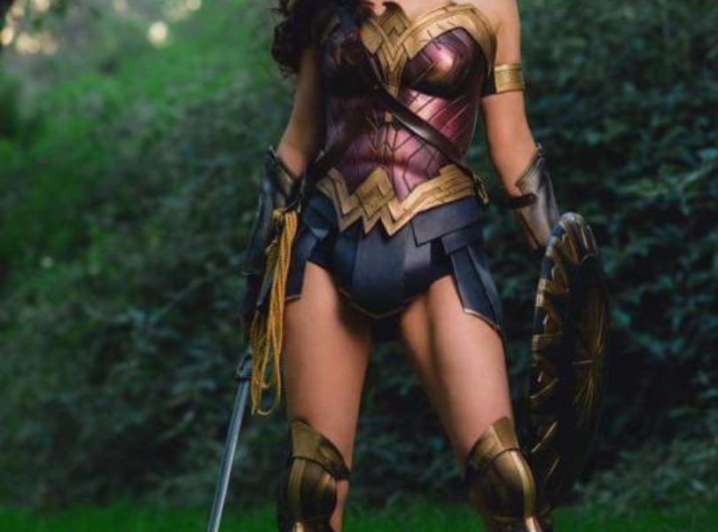 Amazing Wonder Woman Cosplay